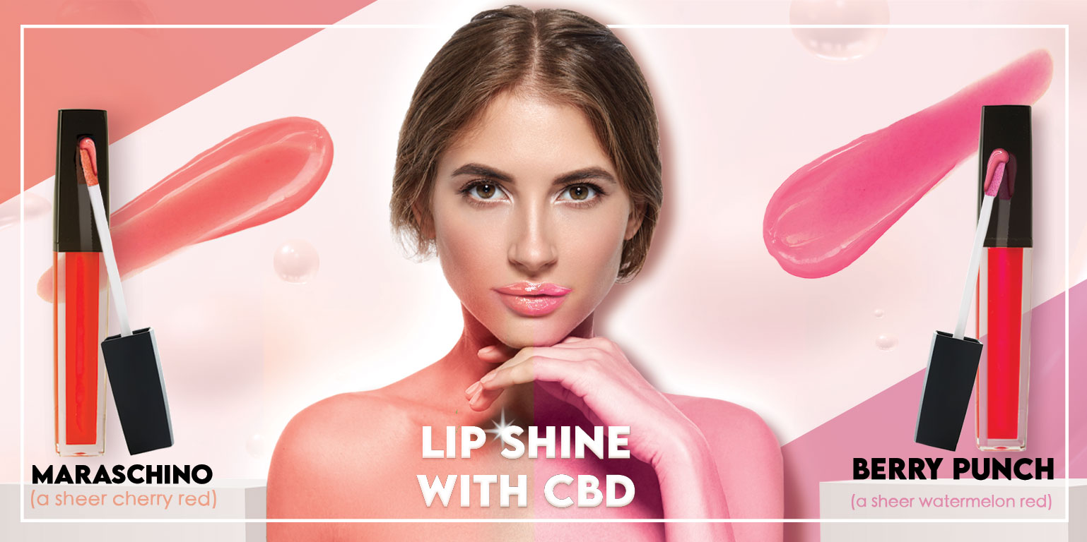 LIP SHINE with CBD