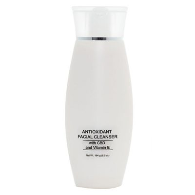 Antioxidant facial cleanser
